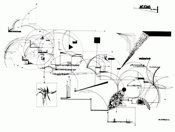 Leon Schidlowsky 'Acting', 1972
