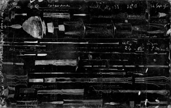 Gabriel Sizes 'Etude Expérimentale d'Acoustique Musicale', 1920
