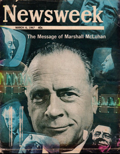 McLuhan in Newsweek Magazine