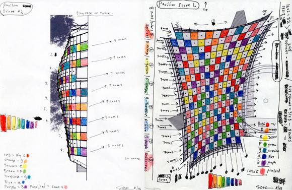 Steve Roden 'Pavilion Scores', 2005