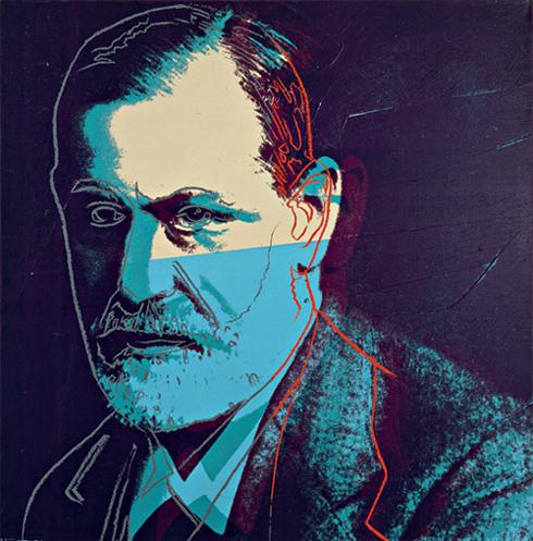 Andy Warhol 'Sigmund Freud', 1980