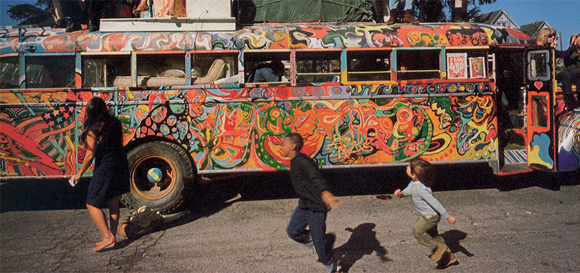 "Scene from ""Magic Trip: Ken Kesey's Search for a Kool Place"""