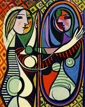 Pablo Picasso - Girl before a Mirror, 1932