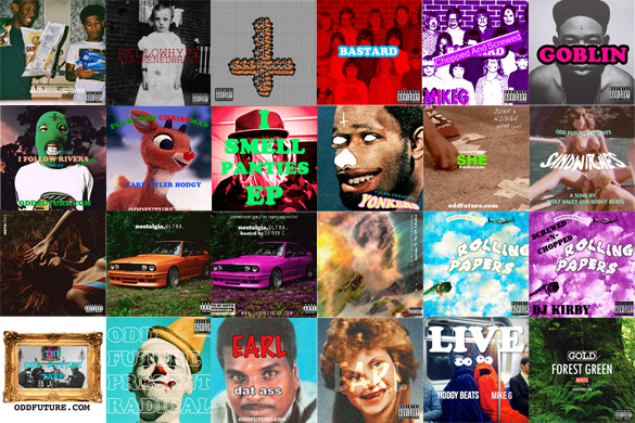 OFWGKTA's mixtapes