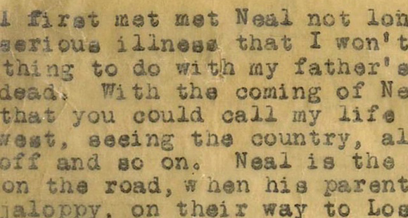 Jack Kerouac 'On The Road', 1957