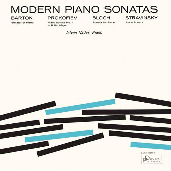 Modern Piano Sonatas (Dover, 1964)