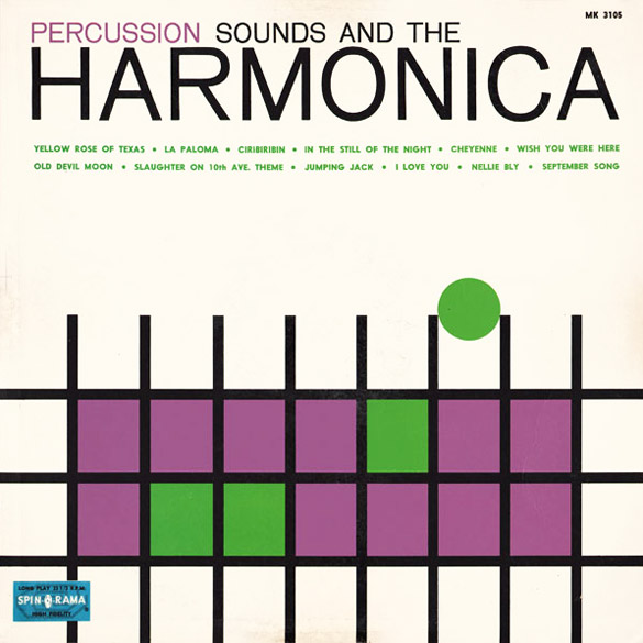 Percussion Sounds Of The Harmonica (Spinorama)