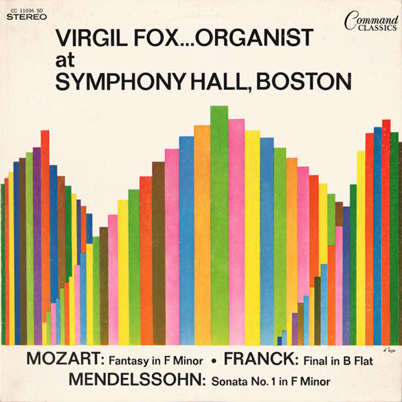 Virgil Fox...Organist (Command Classics)