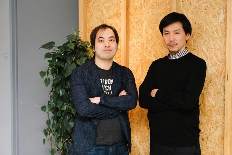 ABEJA代表取締役社長CEO兼CTOの岡田陽介氏とOVERKAST大林